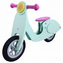 Retro scooter loopfietsje