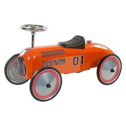 Oranje loopauto retro Charly