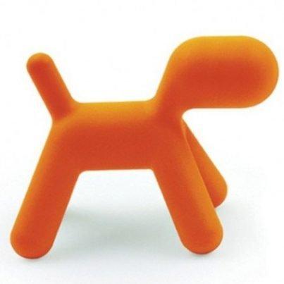 Stoel puppy oranje