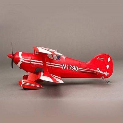 Modelbouw dubbeldekker vliegtuig