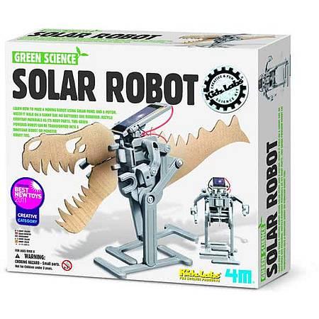 Robot op zoonestroom