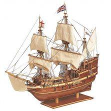 Houten scheepsmodel Mayflower