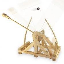 Constructiedoos Da Vinci katapult
