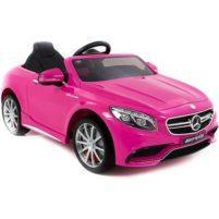 Roze Mercedes kinderauto electrisch