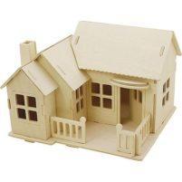 Constructiedoos huis terras